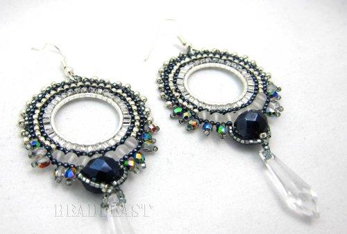 crystal chandelier earring